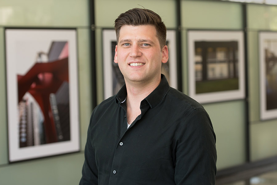 Spencer McNeil '10, a studio art major, is an architect and adjunct professor of architecture.
