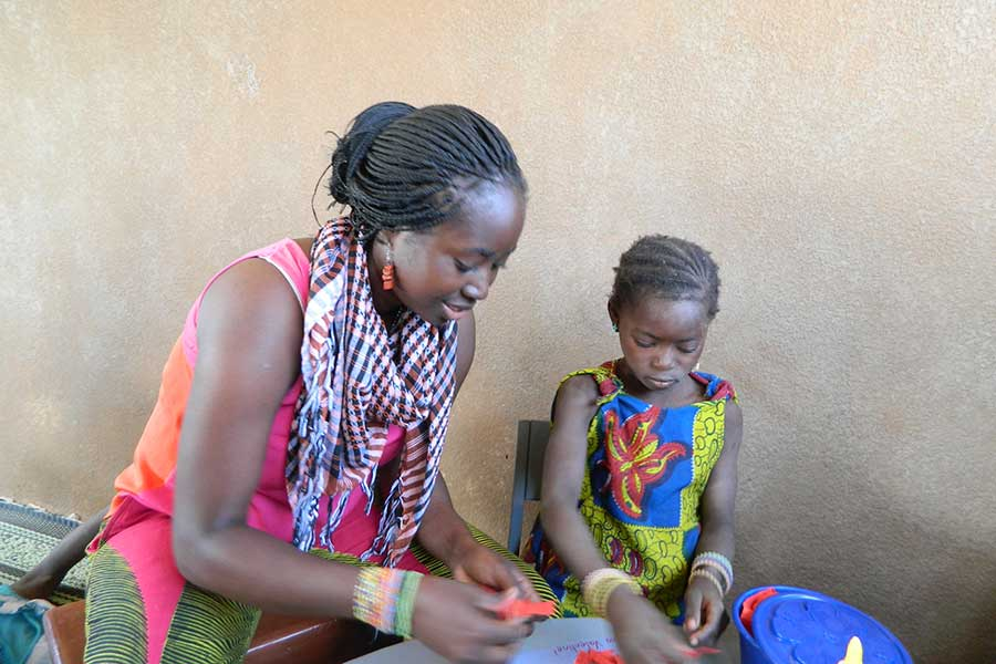 Celestina Agyekum '12, Peace Corps Volunteer in Burkina Faso