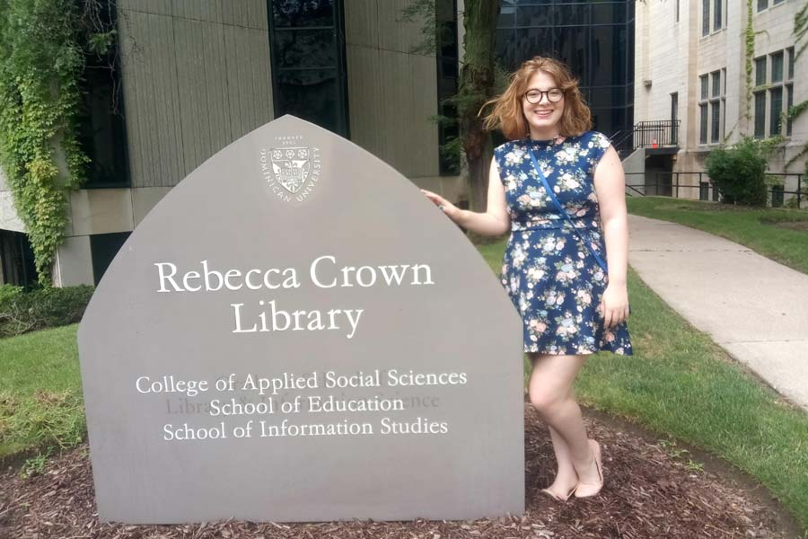 Connie Meade '19 plans to become a librarian