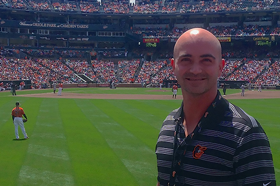 Baltimore Oriole Team Physician Derek Papp '01