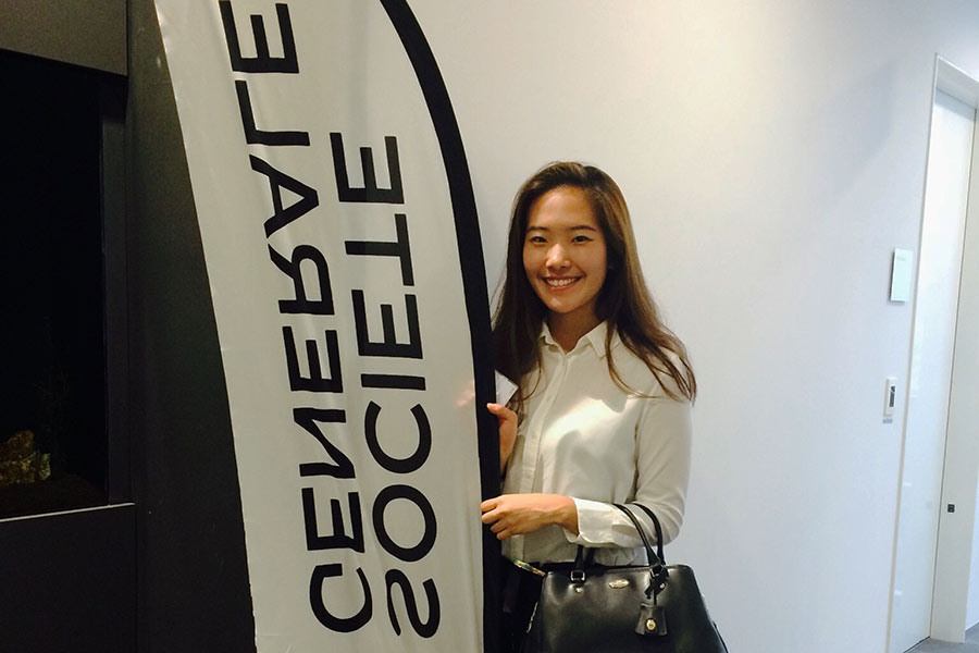 Ha further enhanced her business and translation skills while interning at Societe Generale bank.