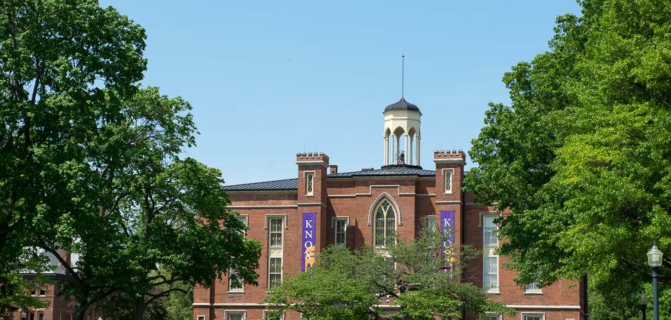 Knox College's Old Main is both an historic site and a center of teaching and learning.