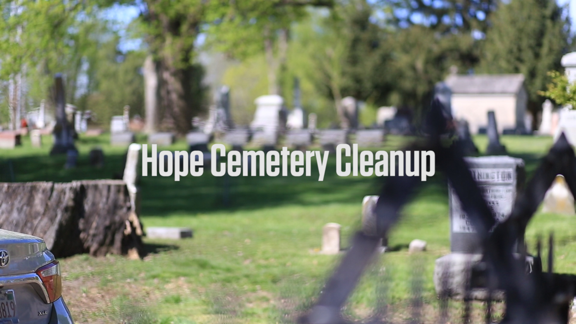 Earth Day Hope Cemetery Cleanup