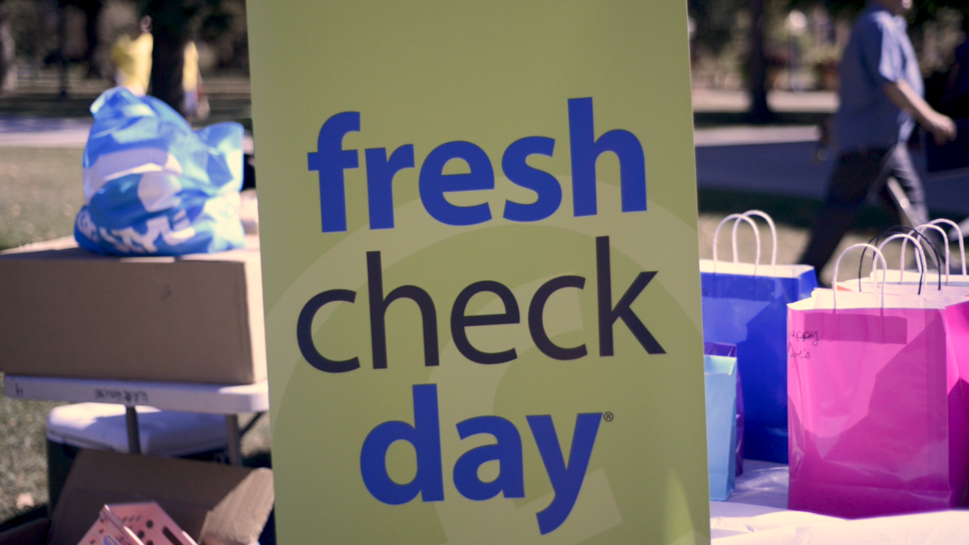 Knox College Fresh Check Day!