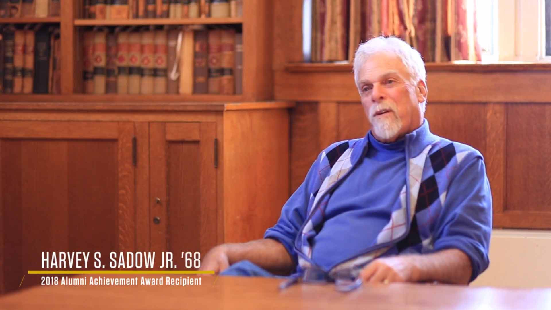 A Knox Magazine Exclusive: Harvey Sadow '68