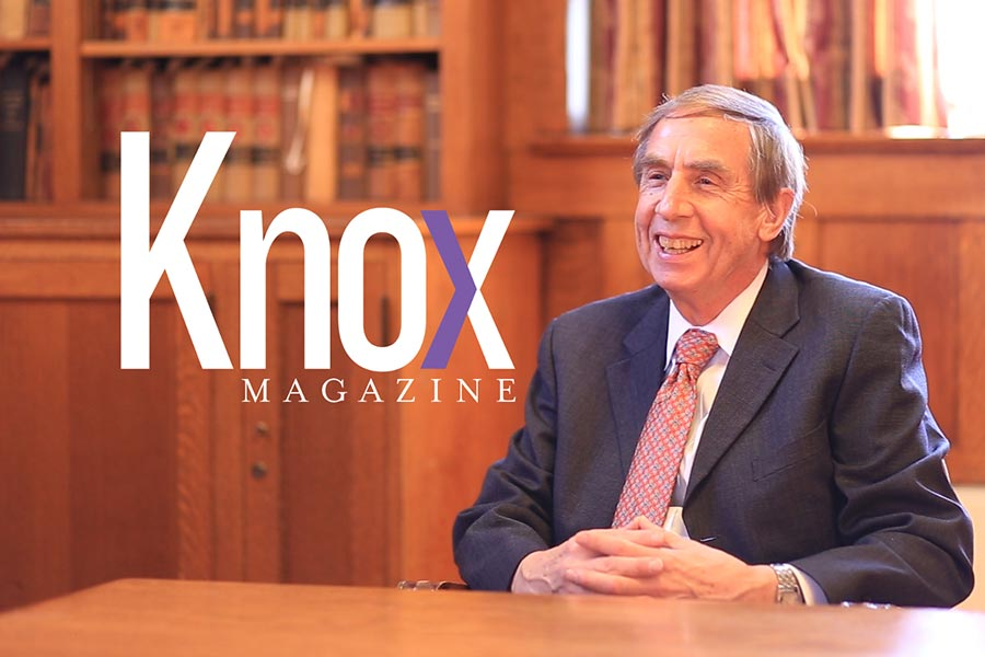 A Knox Magazine Exclusive: Dr. Gregory F. Duick '68