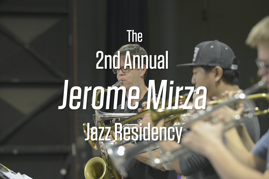 The 2nd Annual Jerome Mirza Jazz Residency featuring Saxophonist Donny McCaslin.