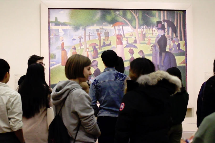 Knox Students Explore Chicago Art