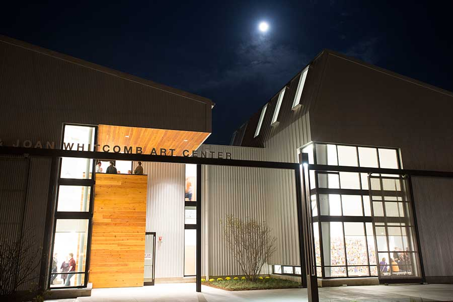 Whitcomb Art Center Opening