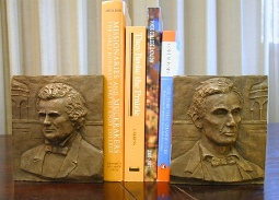 Lincoln Douglas Society Bookends