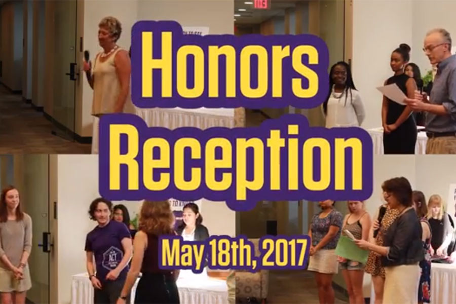 Image for Honors Reception 2017