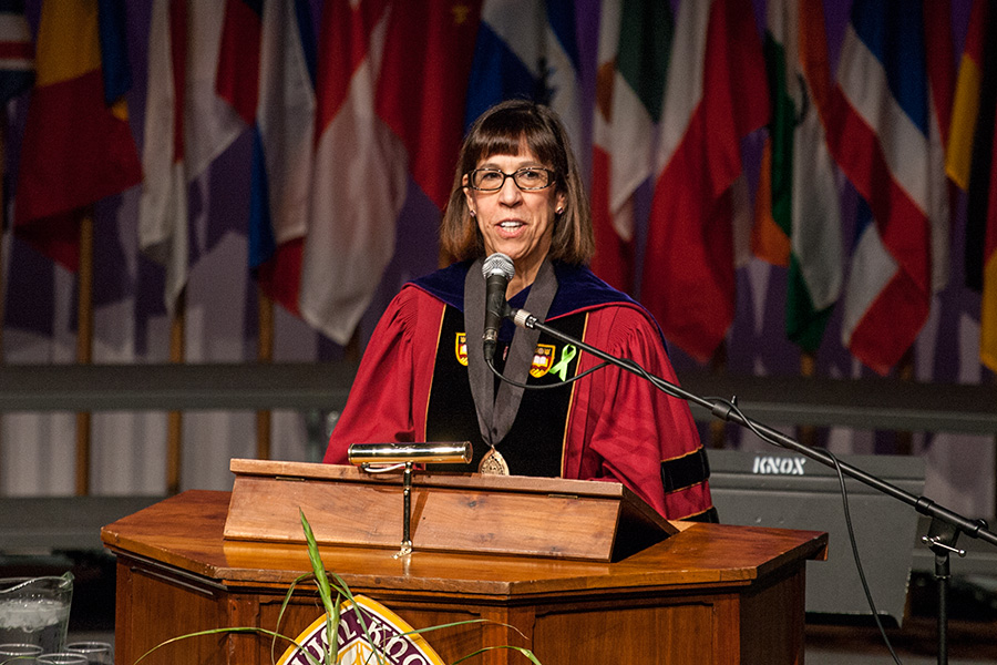Opening Convocation with Knox College President Teresa Amott
