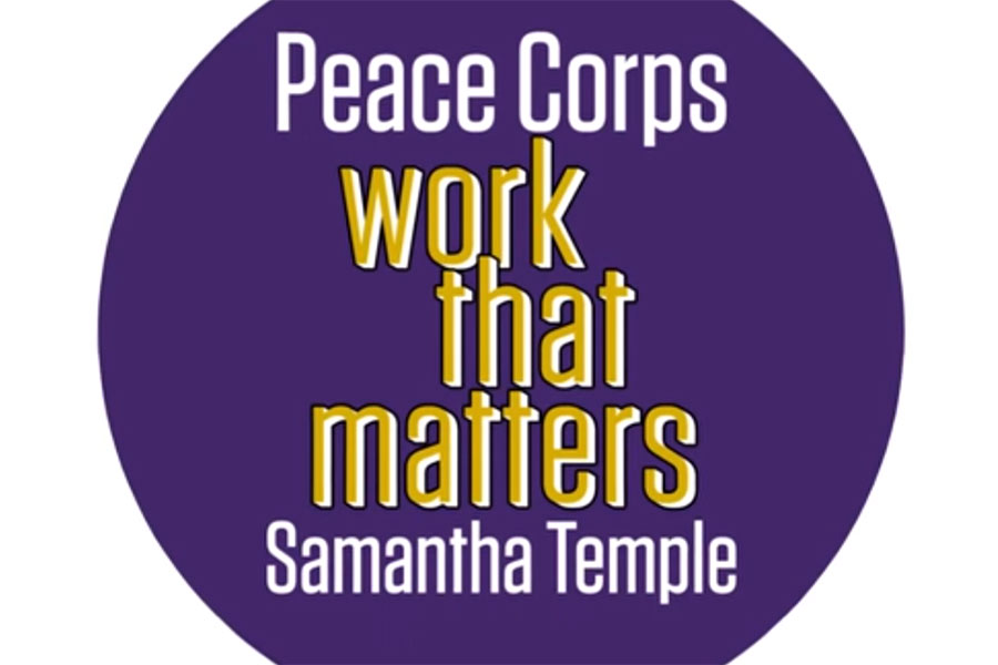 Image for Knox Alum Samantha Temple Discusses Peace Corps