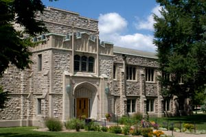 Seymour Library, Knox College, Galesburg, Illinois