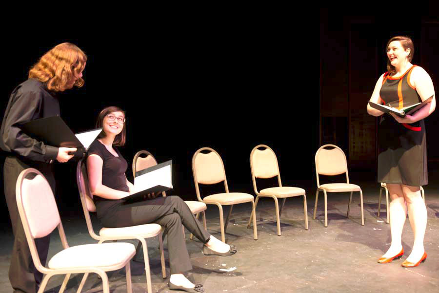 Knox Theatre Department and Prairie Players Collaborate on First Look Play Festival