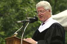 Bill Clinton at Knox College