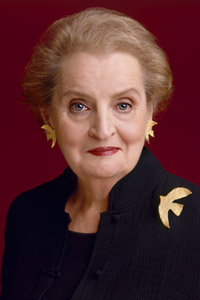 Madeleine Albright, Portrait by Timothy Greenfield-Sanders