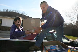 knox delivers donations to food pantry knox college
