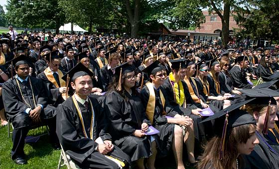 Knox College Commencement 2011