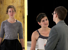 Knox College Theatre Rehearsal - Mary Stuart