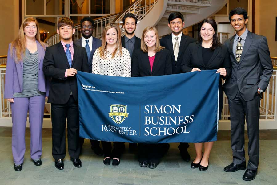 Students Win Awards at Business Competition