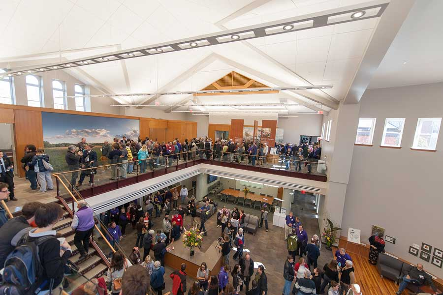 Homecoming 2014: Friends, Fun, and the Transformed Alumni Hall