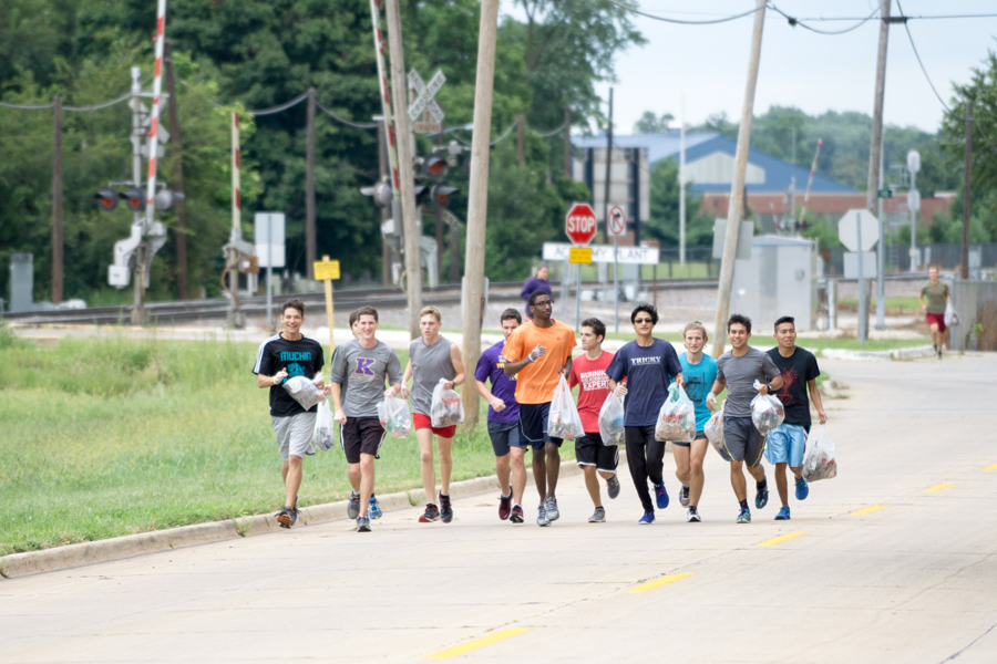 Team & Town Win Running Battle with Trash