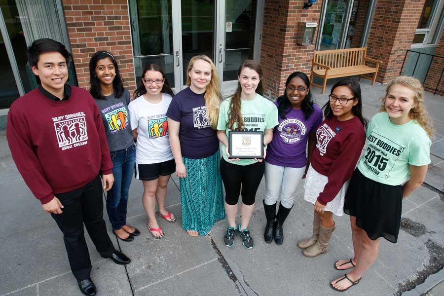 "Best Buddies at Knox Named ""Chapter of the Year"""