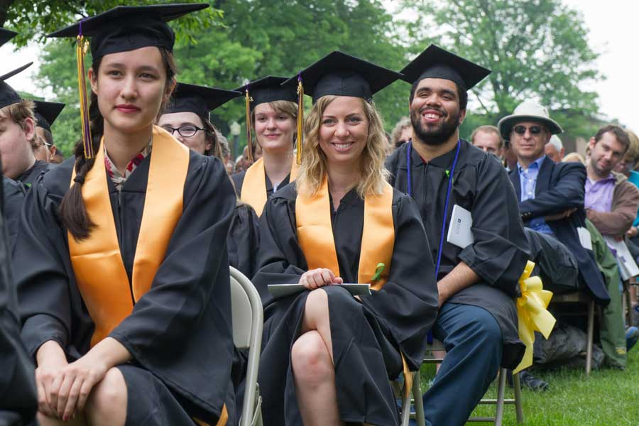 Knox College Commencement 2015