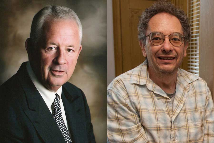 Professors Spittell, Young Named to Endowed Chairs