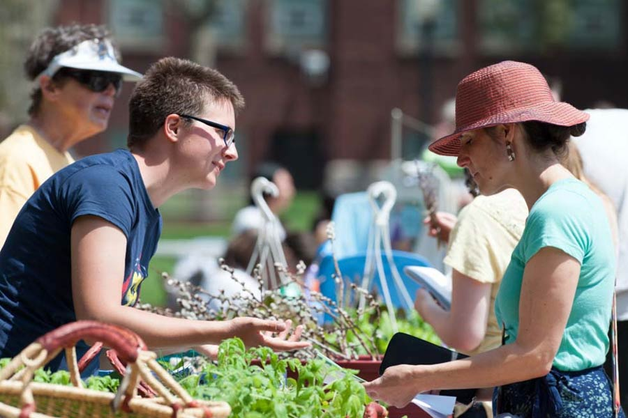 The Earth Week Festival is one of many activities planned at Knox College to observe Earth Month.