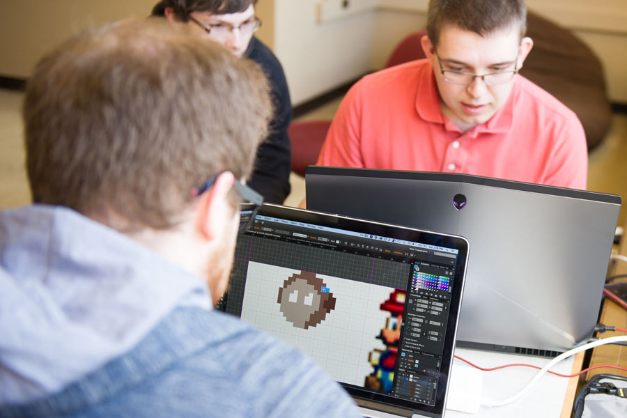 Game Jam: Students Design, Create Their Own Video Games