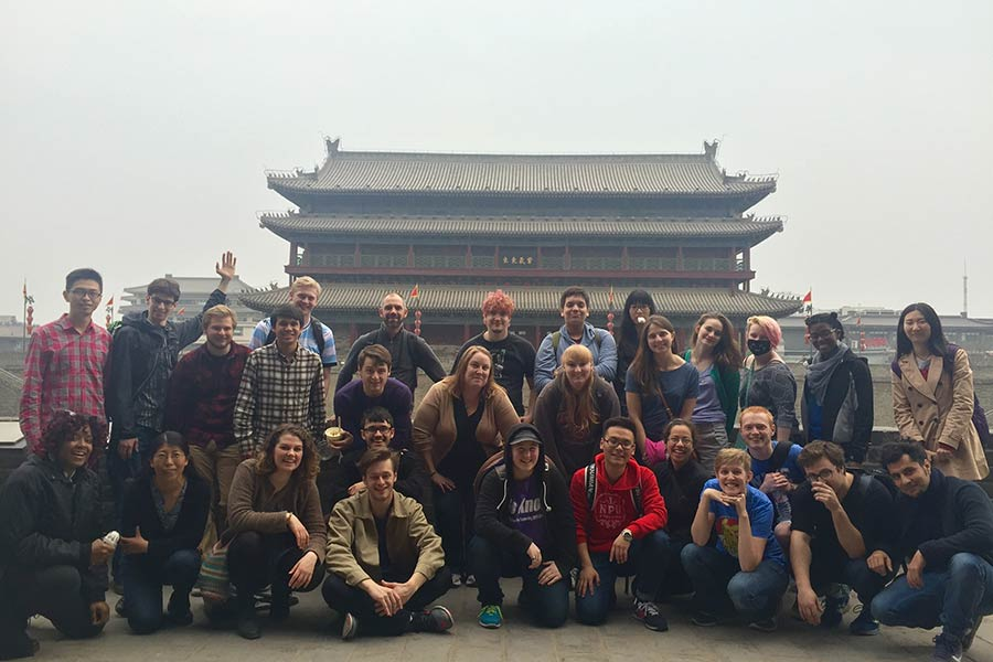 Great Jazz and the Great Wall: Knox Jazz Musicians Travel to China