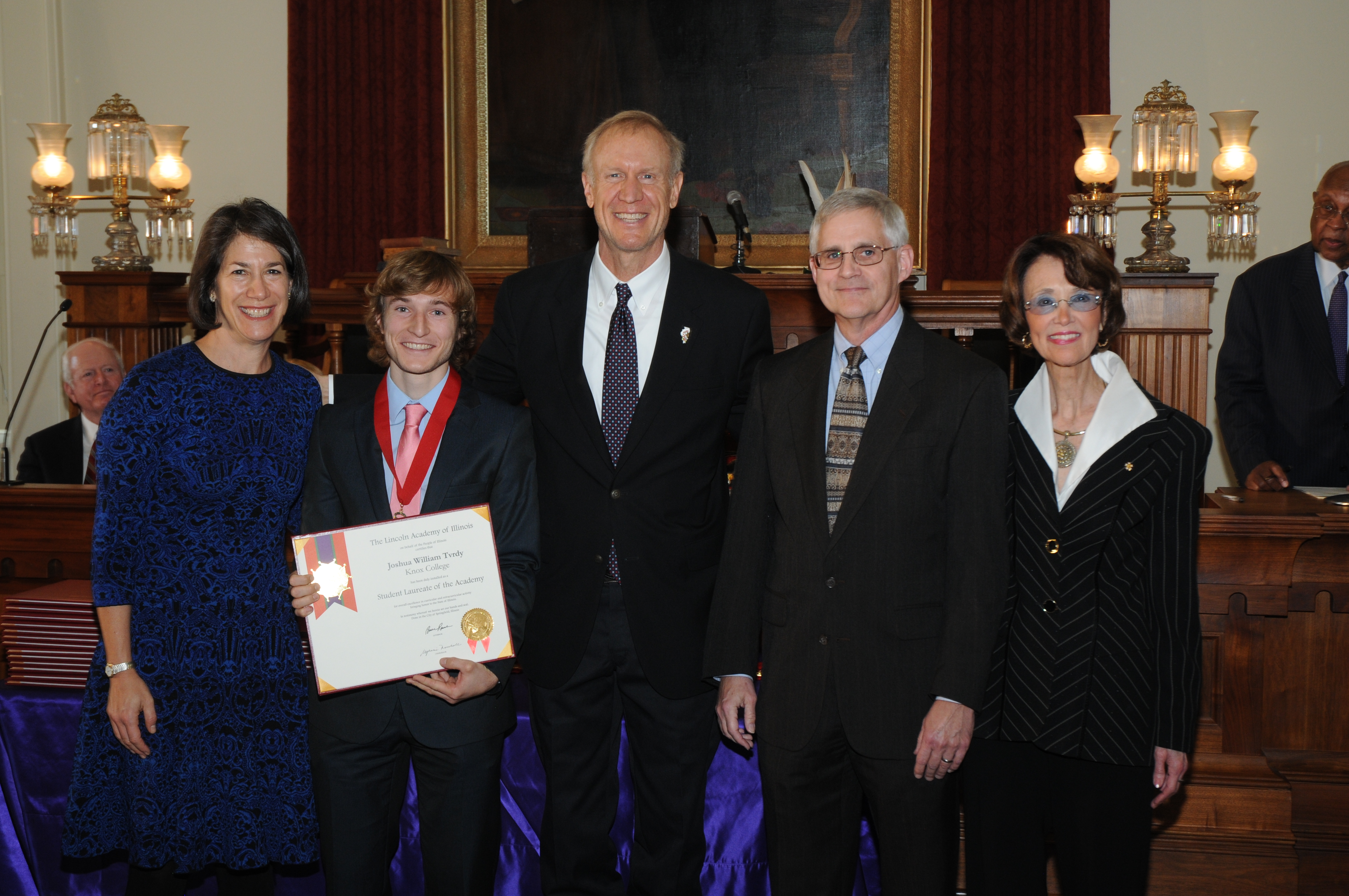 Josh Tvrdy '17 Selected for Lincoln Laureate Honor