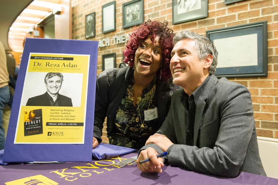 The 2016 Honnold Lecture was presented by religion scholar Reza Aslan