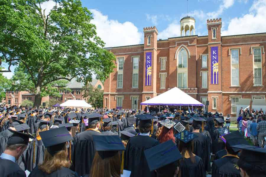 Knox College Commencement 2016