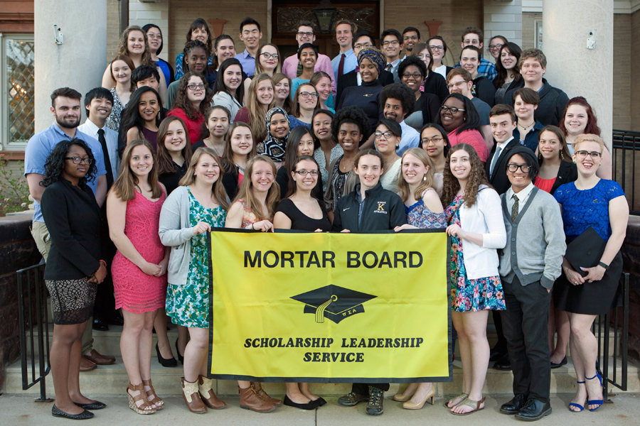 Knox's chapter of Mortar Board received two awards at a recent national conference.