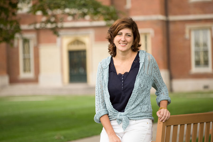 Knox College's first director of spiritual life is Lisa Seiwert.