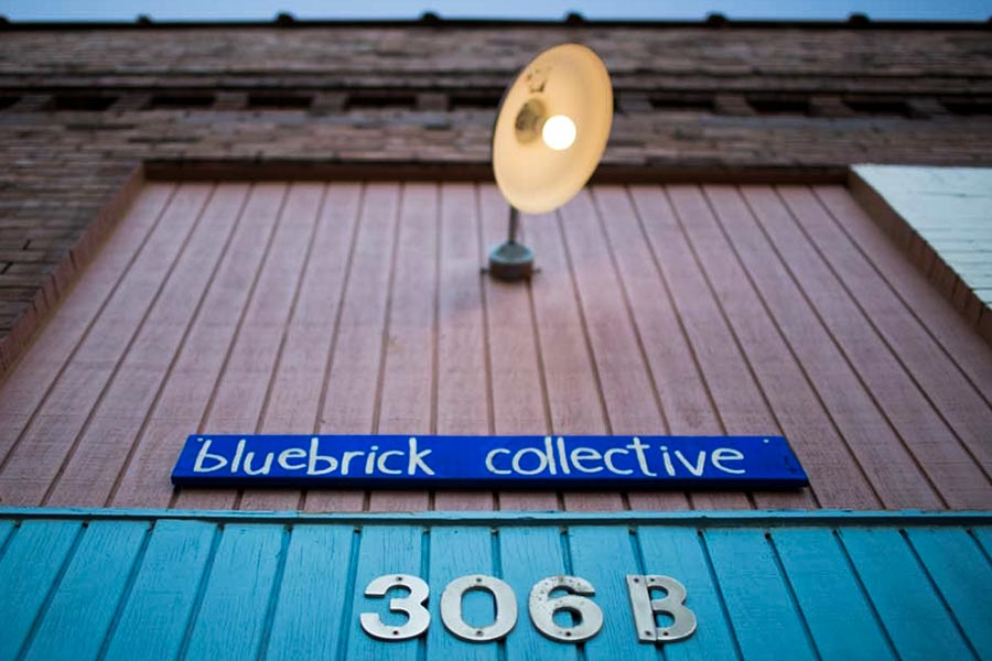 The Bluebrick Collective offers a creative space to the Galesburg and Knox community for workshops and events.