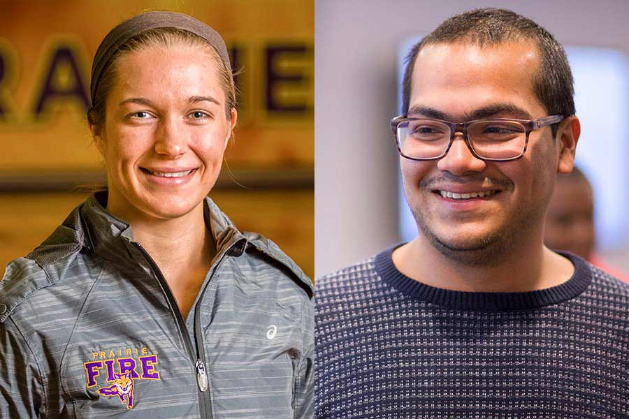 Jose Guevara '17 will travel to the Dominican Republic and Jessica Fritts '17 to Rwanda for the Peace Corps.