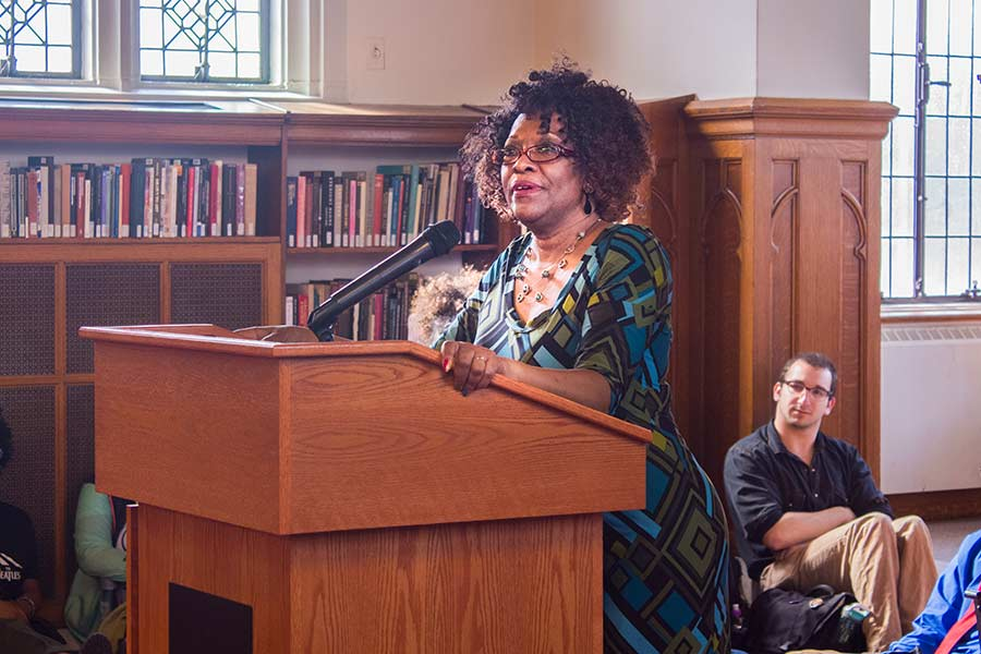 Pulitzer Prize Winner & Poet Laureate Rita Dove Packs the Room for Poetry Reading