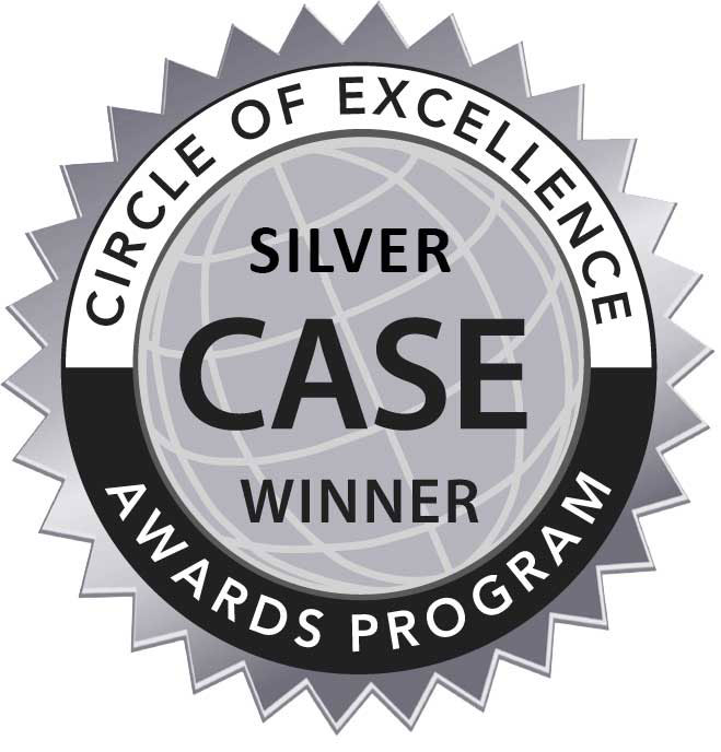 CASE Circle of Excellence Silver Winner