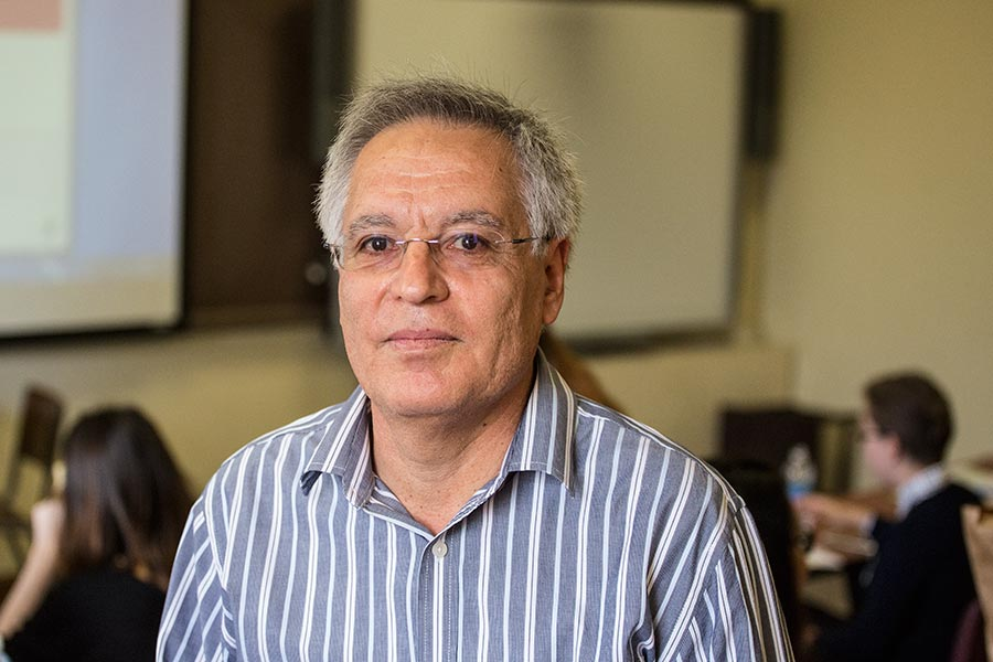 Julio Noriega, associate professor of modern languages (Spanish).