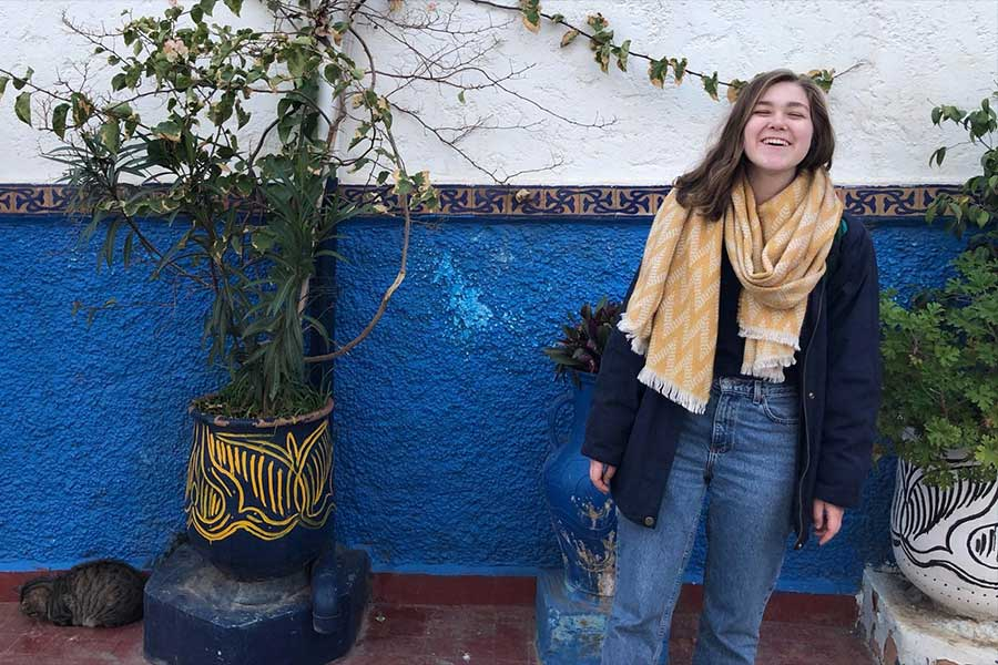 Erika abroad in Morocco