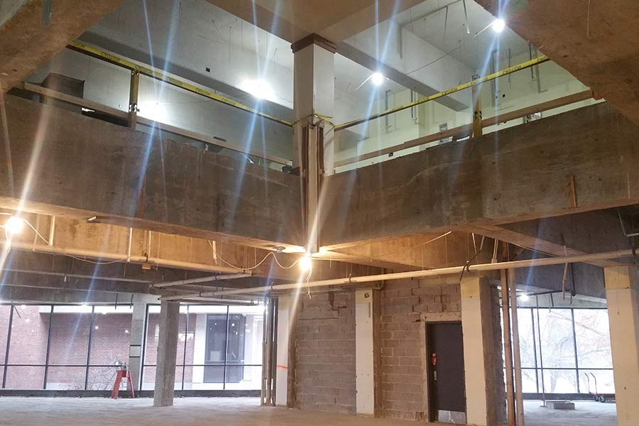 Renovation of Knox College Science-Mathematics Center