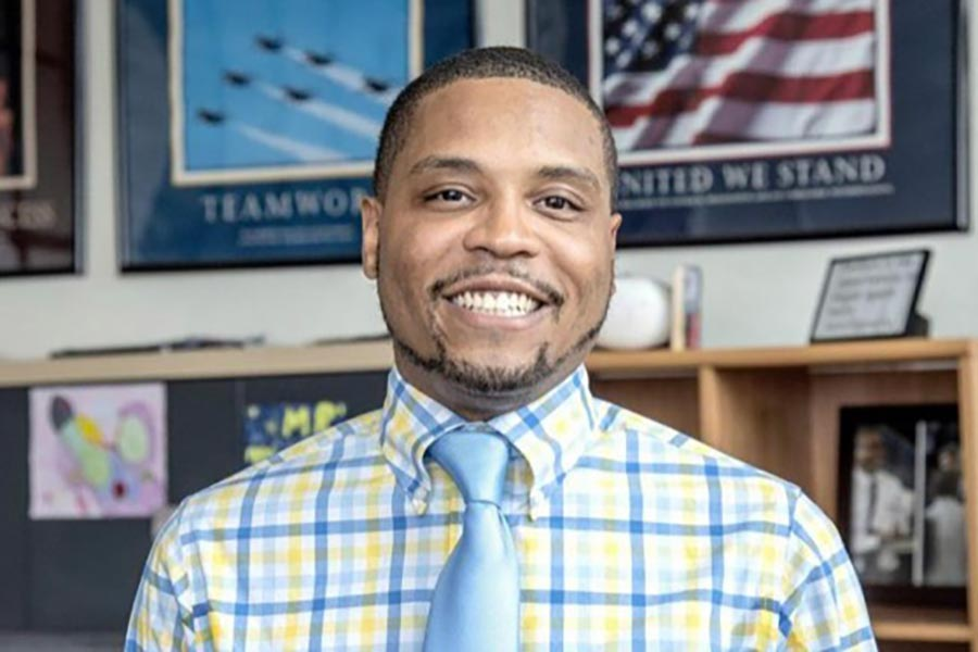 Christian Mahone '11 is impacting student lives through his position as principal of South Side Elementary.
