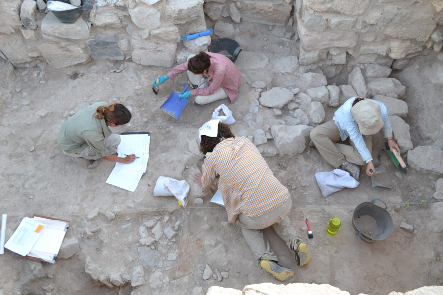 Dhiban Excavation Site