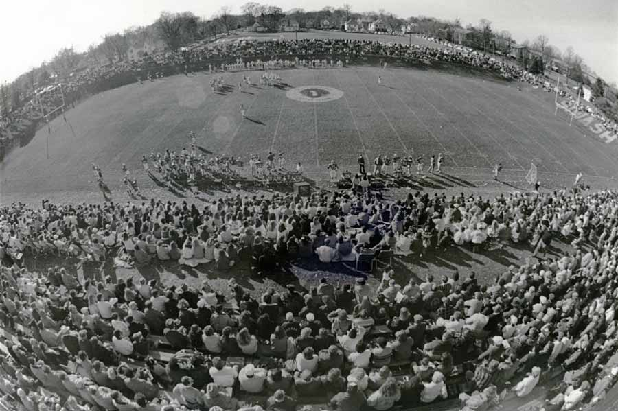 The Bronze Turkey game between Knox and Monmouth is one of college football's oldest rivalries