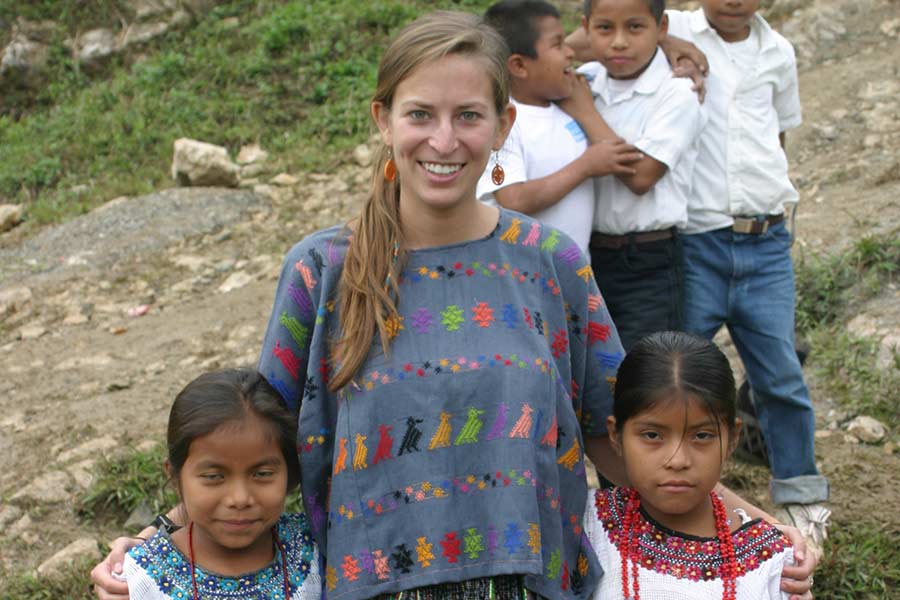 Hannah was enrolled in the Knox PC Prep program before serving in the Peace Corps in Guatemala
