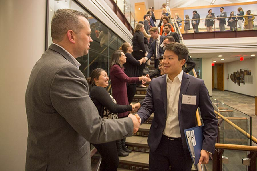 Knox College Alumni provided advice on pursuing careers at the annual Career Impact Summit.